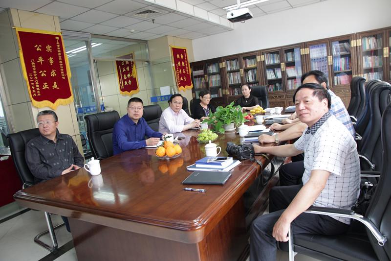 赖文达会长、湛世坤会长到国宏信集团考察工作