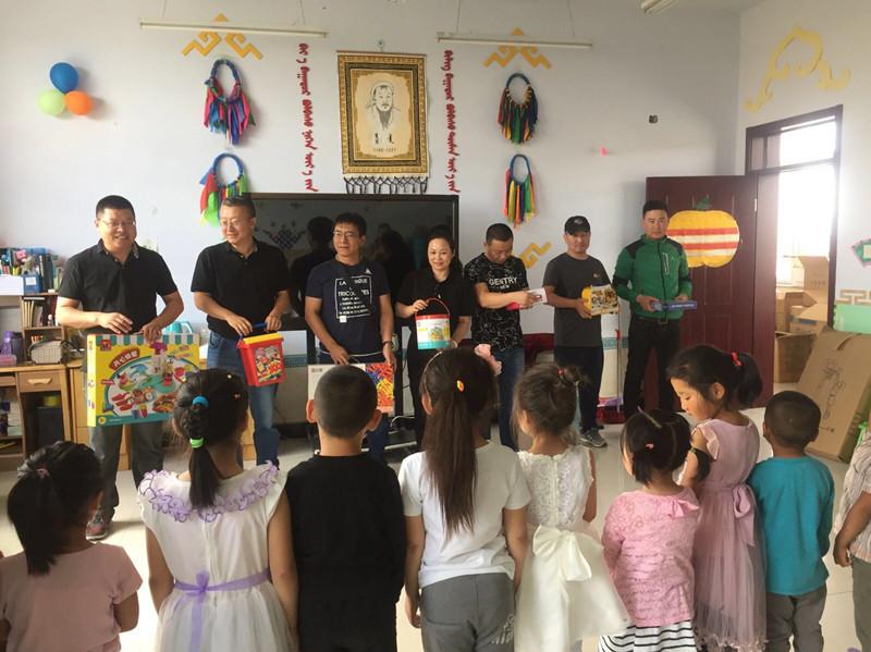 国宏信集团捐助内蒙古正蓝旗蒙古族幼儿园